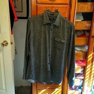 J. Crew wool blend shirt